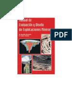 Manual de Evaluacion y Diseno de Explotaciones Mineras