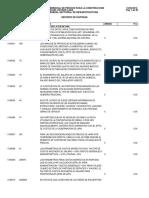 Listado de Precios Gobernacion Lara Mayo 2016
