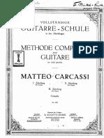Matteo Carcassi_Methode Compelete Guitare