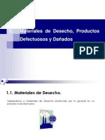Contabilidad de costos Desecho, Prod. Defect. y Dañados