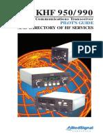KHF 950-990 User Manual