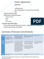 Member Substitution Agreement, Service Commitments