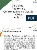 1 CC7 AUD CTRL PUBLICA a Auditoria Pública Introdução