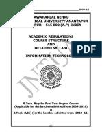 B.tech. - R09 - IT - Regulations Syllabus (1)