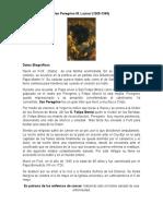 San Peregrino 2016 biografía y oración .docx