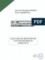 Guia Para El Registro de Eventos de Riesgo Operativo (Actualizado)