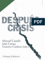 CASTELLS CARACA CARDOSO Las Culturas de La Crisis Economica 2012