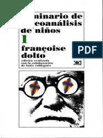 Seminario de Psicoanálisis de Niños 1 [Françoise Dolto]