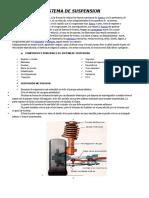 Sistema de Suspension Direccion y Freno