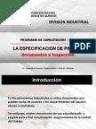 CPPQ - La Especificacion de Pintura & El Inspector