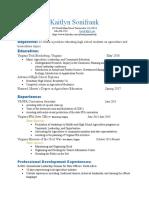 kaitlyn sonifrank-resume