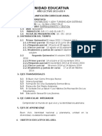 Planificacion Curricular Anual- Emprendimiento y Gest