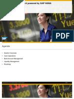 Acelerando a Visibilidade Da Gestão de Caixa Através Do SAP S4HANA Finance