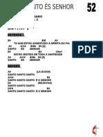 52 - SANTO ÉS SENHOR (CASA DE DAVI)