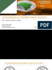 Atualização Do Cenário Fiscal 2016 - 2017