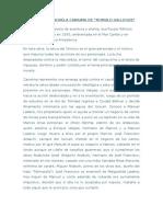 Analisis de La Novela Canaima