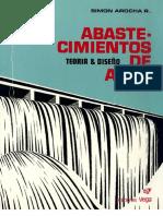 ABASTECIMIENTOS DE AGUA Teoria & Diseño - Simon Arocha.pdf