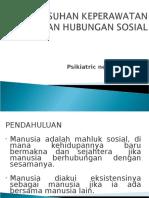 Askep Hub. Sosial
