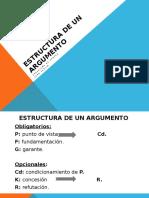 Estructura de Un Argumento