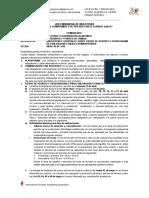 Comunicado Para Padres Cierre 1 p y Horario Evaluaciones Finales