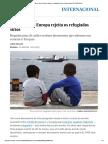 É Assim Que a Europa Rejeita Os Refugiados Sírios _ Internacional _ EL PAÍS Brasil