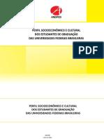 Relatório Do Perfil Dos Estudantes Nas Universidades Federais 2011