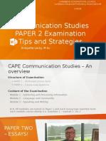 Communication studies exam