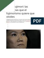 Keiko Fujimori CASOS