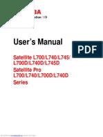 Manual Satellite l700 Series