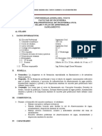 Silabo Concensuado Saneamiento - 2015 III