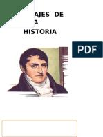 Personajes de Nuestra Historia