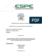 Informe 1 Proyecto Integrador II