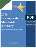 2016 Interoperability Standards Advisory Final 508