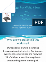 Yoga for Weight Loss and Boosting Your Immune