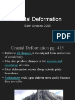 crustal deformation notes 2