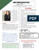 teacher newsletter  1