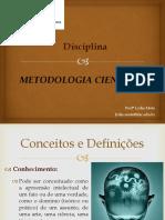 Aula1 Metodologia Cientifica Agroecologia