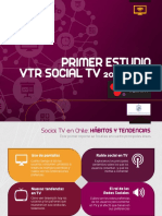TV Redes Sociales y Dispositivos Móviles en Chile ( Estudio VTR )