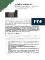 article multiple intelligences from edutopia