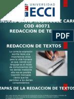 Redaccion y Tipos de Textos