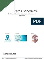 Conceptos Generales utilizados en subestaciones electricas