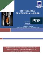 Biomecanica Lumbar Final