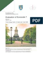 Evaluation of Eurocode 7