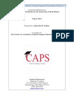 caps proposal
