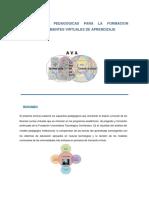 Orientaciones Pedagogicas Para La Formación Apoyada en Ambientes Virtuales de Aprendizaje