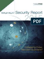 Munich Security Report 2015
