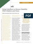 using literature to discuss disabilities