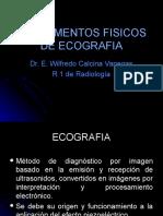 Fundamentos Fisicos de Ecografia