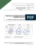 Protocolo Reanimacion CP HRAV Version 1