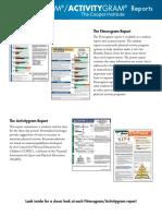 educ 330 sample fitness gram assessment report